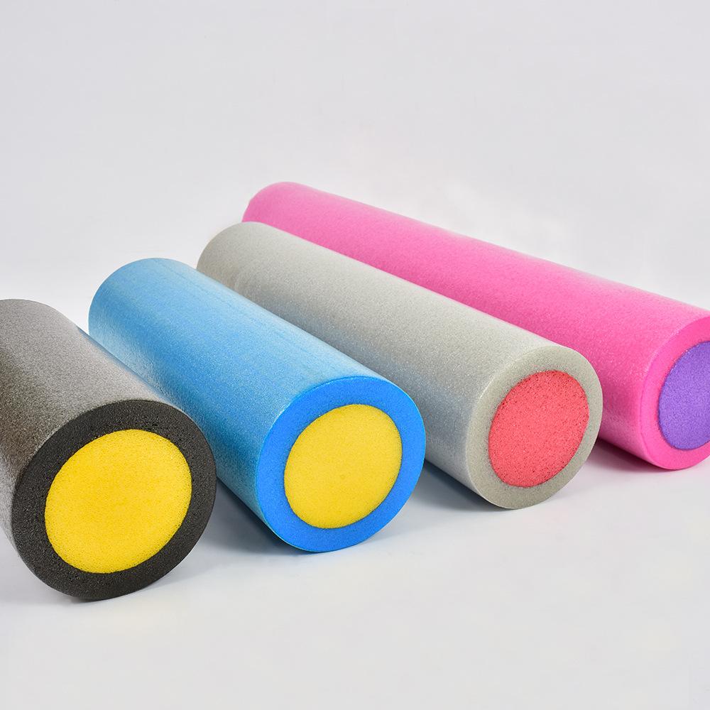 30cm实心瑜伽柱EPE瑜伽柱按摩平衡棒 多色可选