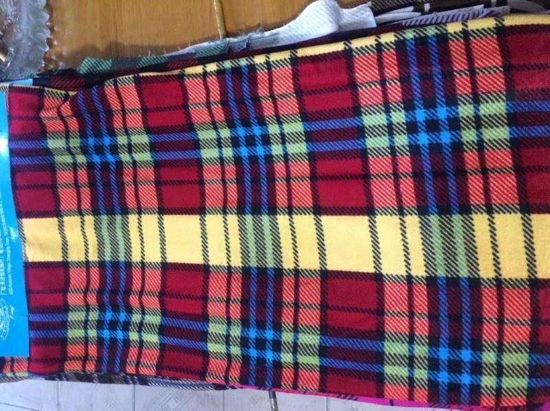 格 子 双面 绒毯毛毯盖毯床单