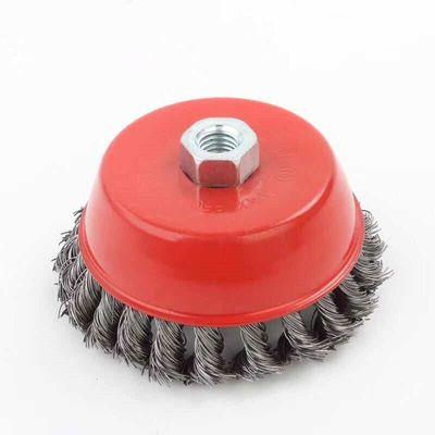 扭丝轮碗型角磨机钢丝轮 钢丝刷 除锈打磨专家工业级 3寸4寸5寸