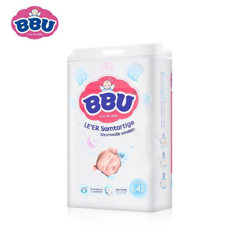 BBU乐儿纺纸尿裤(夜用) L42