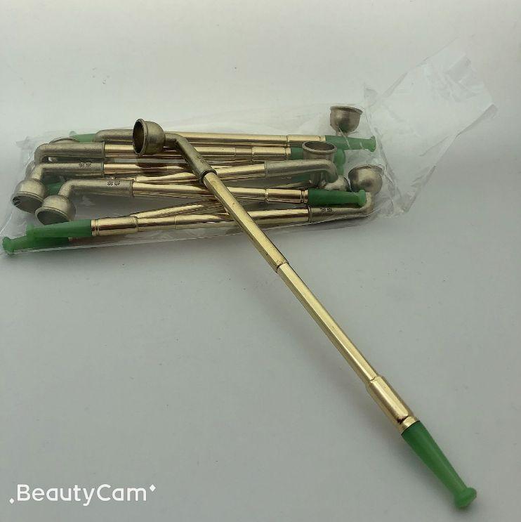 玉嘴黄铜烟斗烟杆铜烟袋锅 烟嘴循环可清洗 老式可伸缩单用旱烟袋