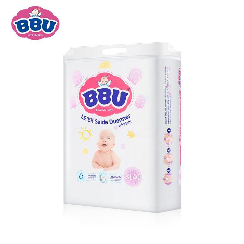 BBU乐儿纺纸尿裤(日用) XL40
