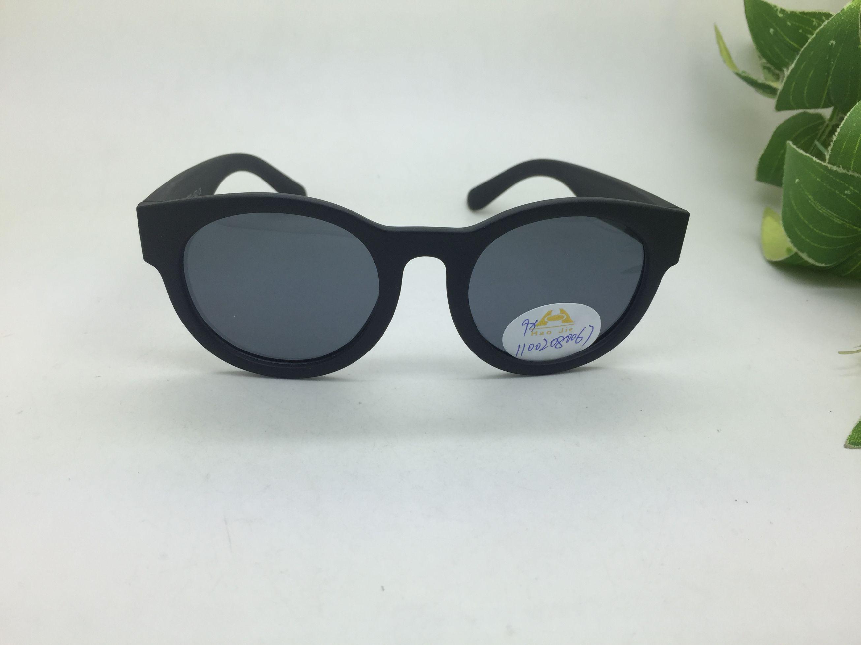 11002-儿童太阳镜偏光镜小孩时尚潮韩版圆框