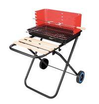 1015A户外家用可折叠方形碳烧烤架烧烤炉