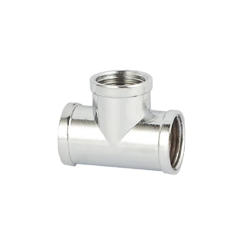锌合金三通,接头、水龙头管件