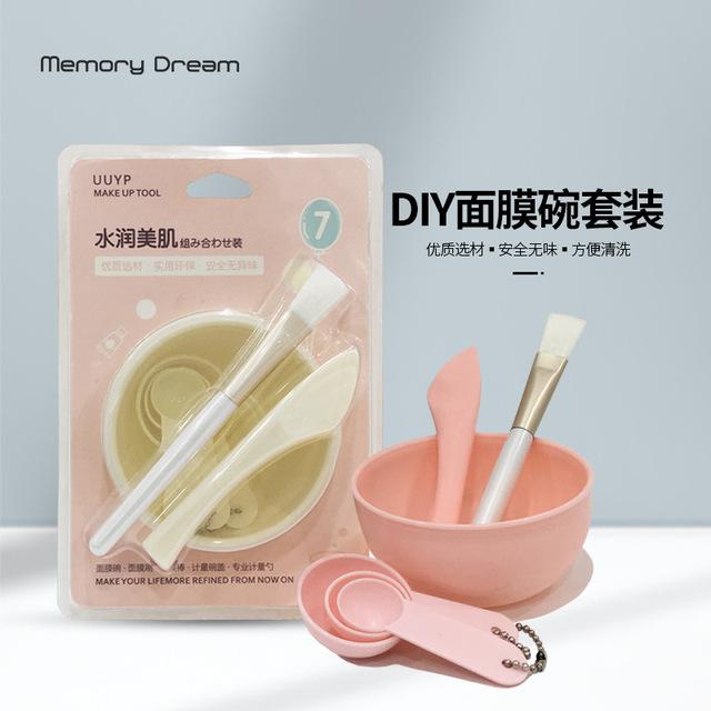 面膜碗组合 面膜刷、面膜棒、调羹