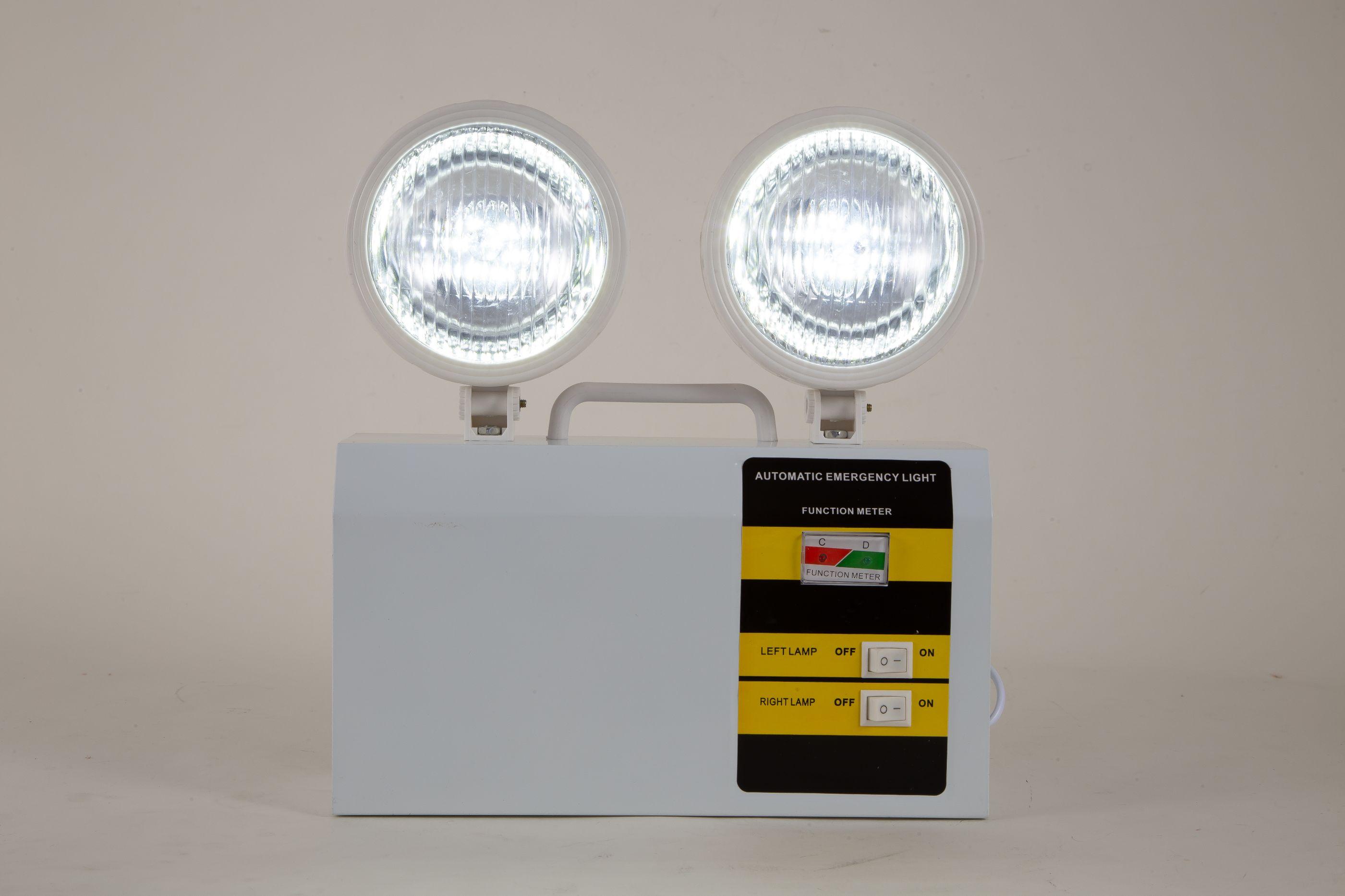 1038A-4双头应急灯超长应急时长大功率亮度不含CB
