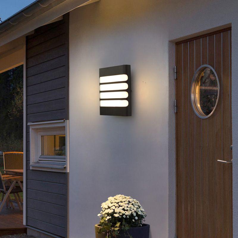 户外室外防水壁灯现代简约过道门头阳台灯门店照明装饰LED壁灯