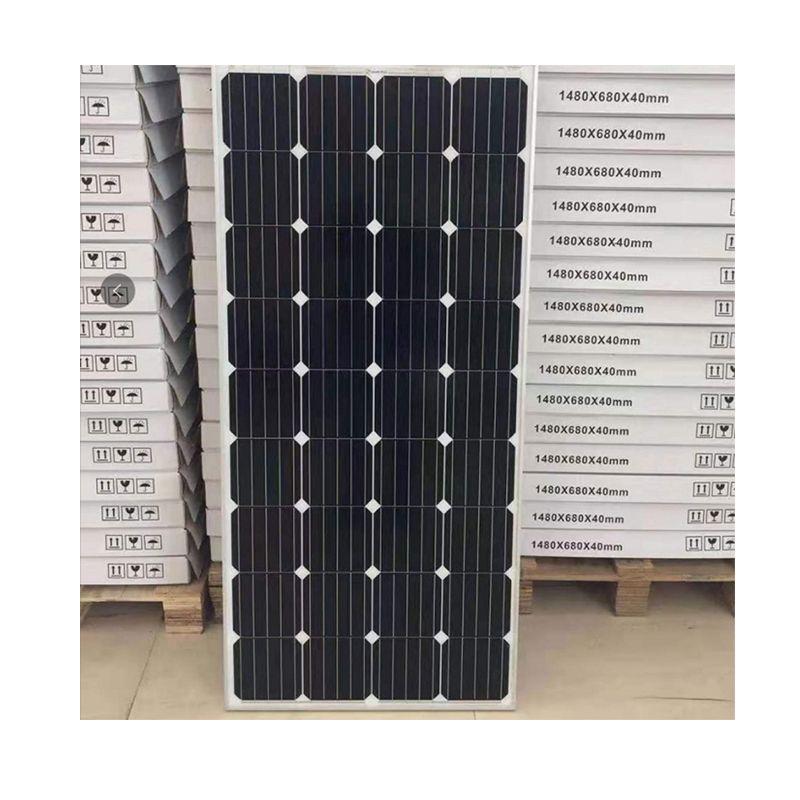 150w 太阳能板光伏太阳能系统家用太阳能电池板150w