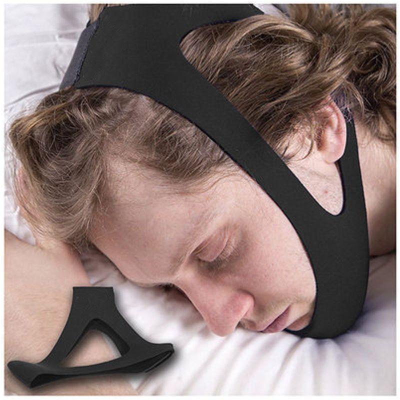 厂家直销 现货Stop Snoring止鼾器下颚保护带三角止鼾带