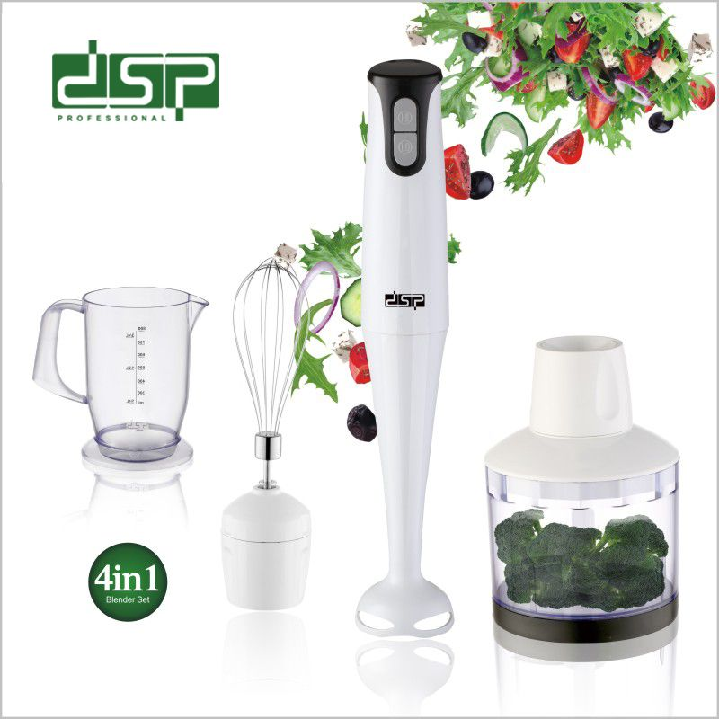 DSP丹松 四合一多功能料理机磨粉绞肉豆浆机电动榨汁机搅拌机果汁
