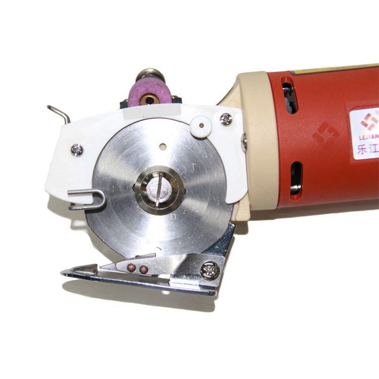 乐江YJ65电动微型圆刀服装电剪刀裁布裁剪机切布机