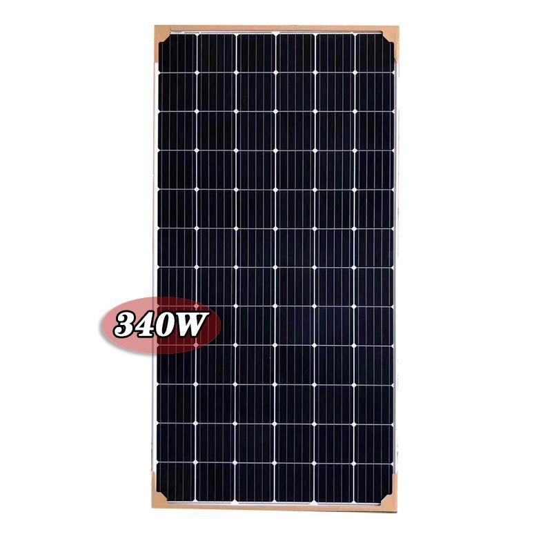 东辉多晶太阳能电池板340w 330瓦太阳能72电池电池板340w