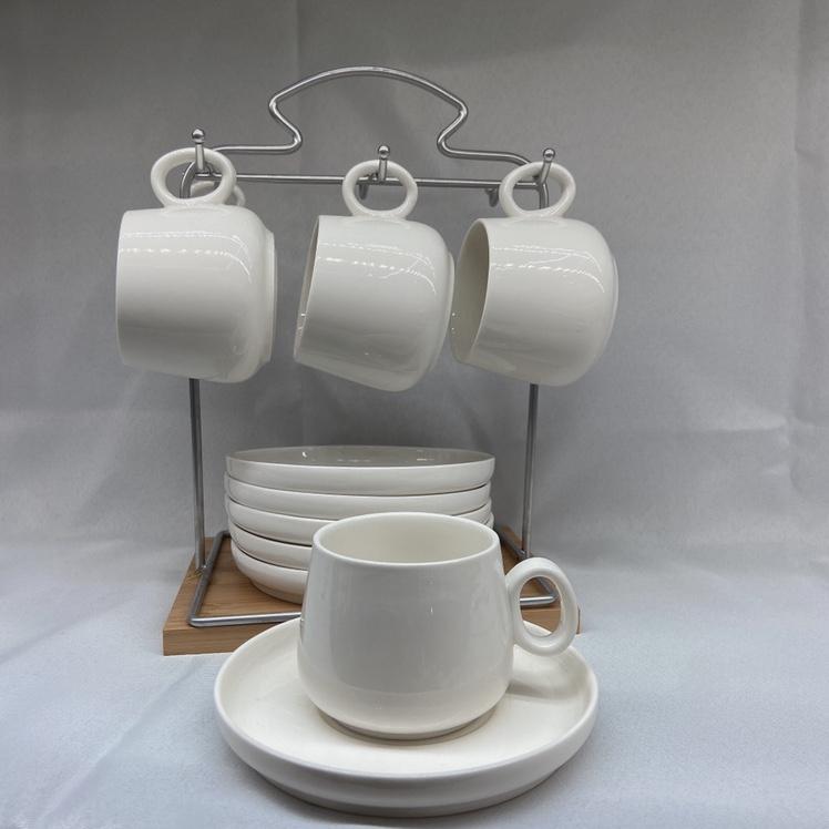 圆型 咖啡杯碟套装