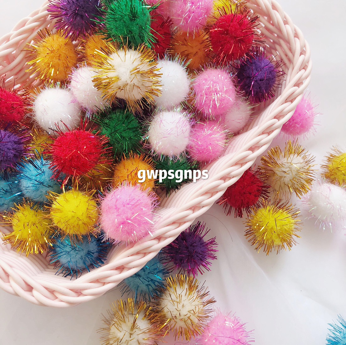 金丝葱球2公分彩色2000个装