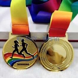 运动会奖章 合金材质奖章 舞蹈赛事奖章 大型活动比赛专用奖章