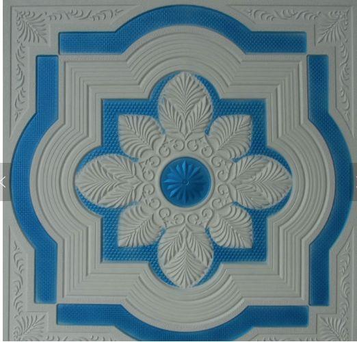 彩色压花  石膏板 方形  天花板扣板可搭配件