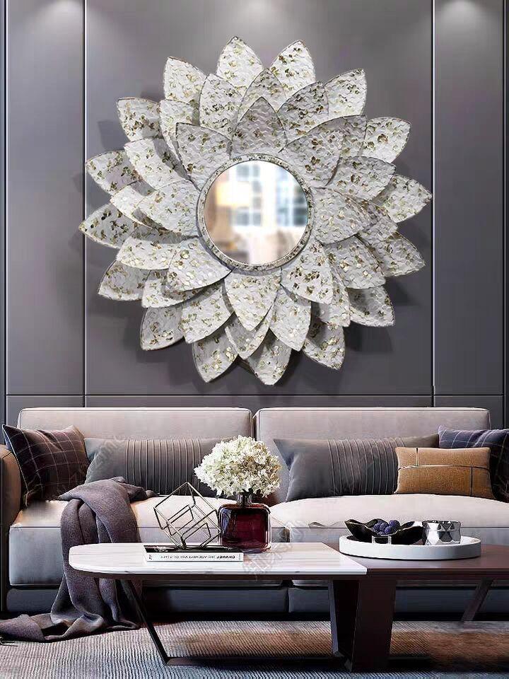 创意轻奢太阳镜客厅墙面装饰壁饰餐厅壁挂家居装饰挂件玄关铁艺