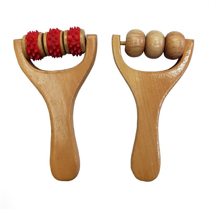 木质按摩器 面部按摩器 通用按摩器 木制环保