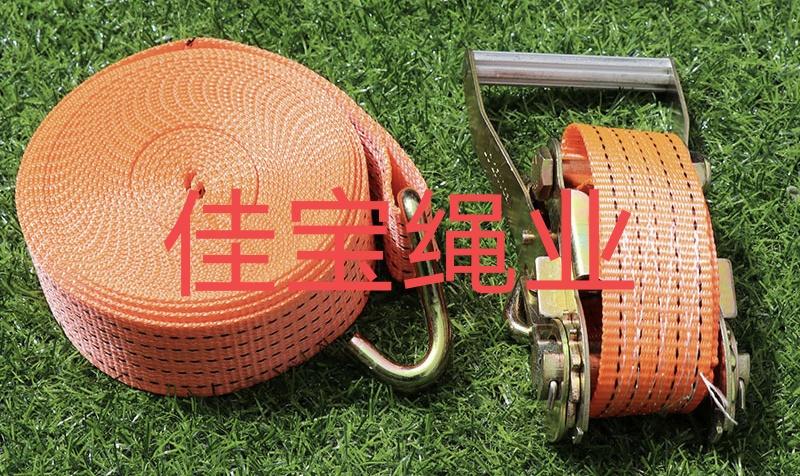 货物捆绑带拉紧器紧固带收紧带捆绑器固定带汽车收紧器货车紧绳器  10米