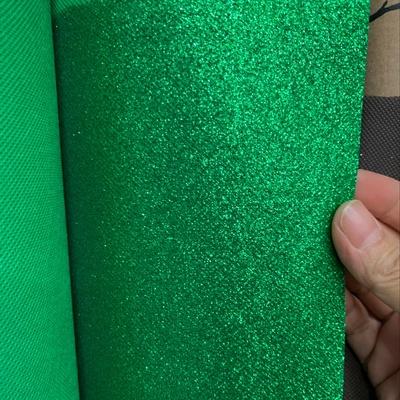 圣诞绿粉无纺布