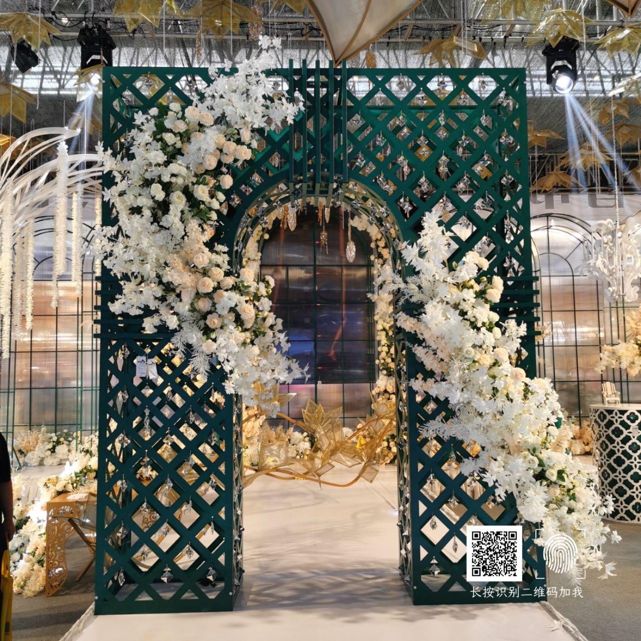 义乌海韵婚庆道具--2020年新品 爱丽丝系列拱门 婚礼装饰
