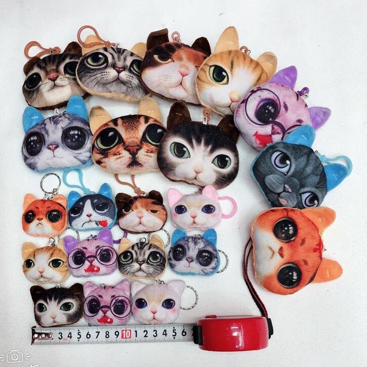 毛绒玩具喵星人钥匙扣挂件包印刷喵星人钥匙小挂件