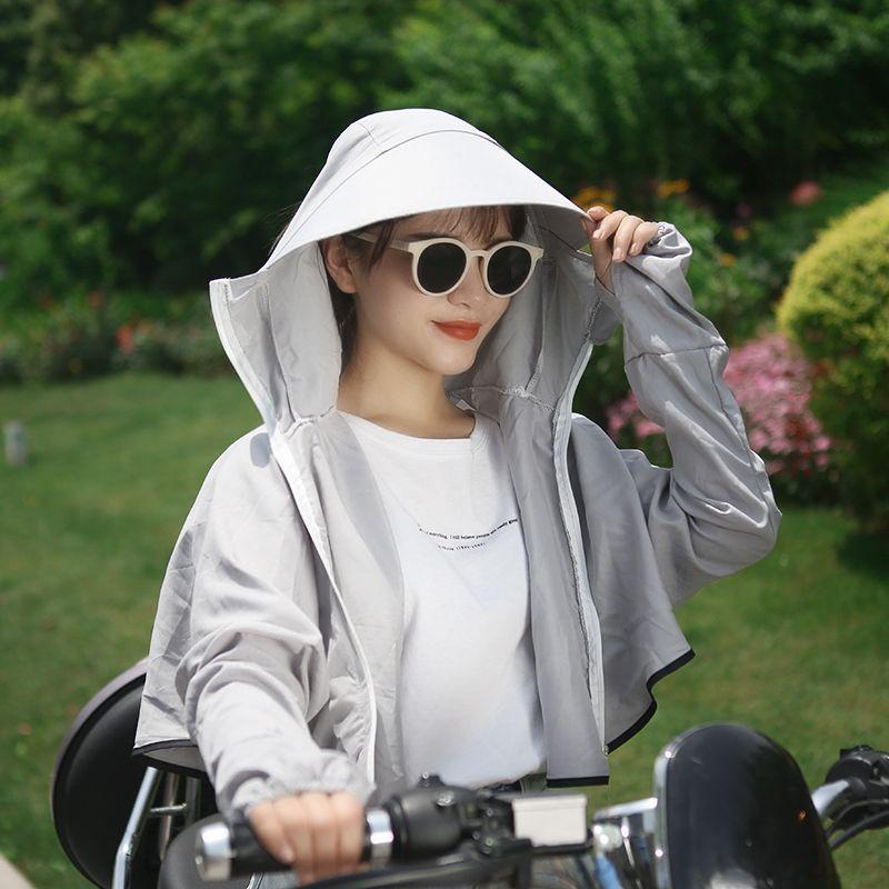 女士夏季防晒衣蝙蝠衫
