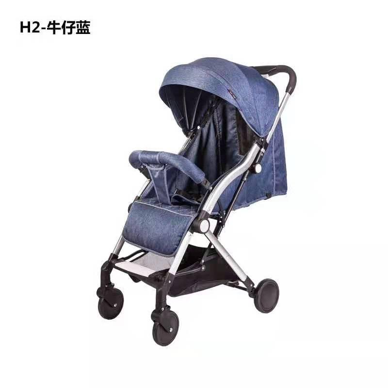H2儿童推车一键折叠