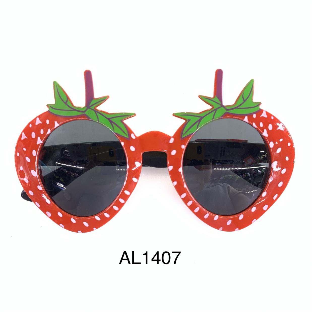 AL1407 派对装饰眼镜,草莓形状眼镜