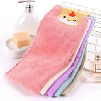 高密珊瑚绒抹布30*30地板清洁巾 吸水性强不掉毛擦桌擦手巾洗碗