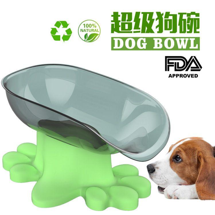 狗狗用品狗碗狗盆慢食碗 大型犬用宠物喂食器 狗粮桶宠物用品