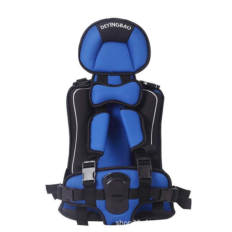 儿童简易版安全座椅蓝色汽车用品 / 安全/应急/自驾 / 汽车儿童安全座椅