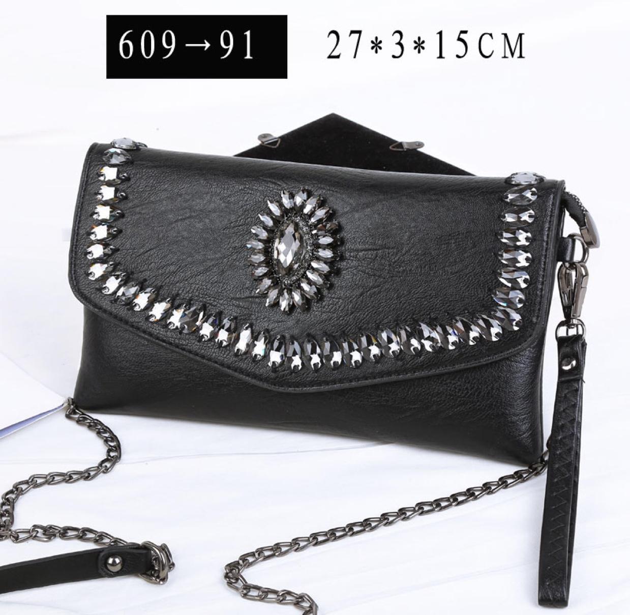 609欧美时尚手拿包信封包