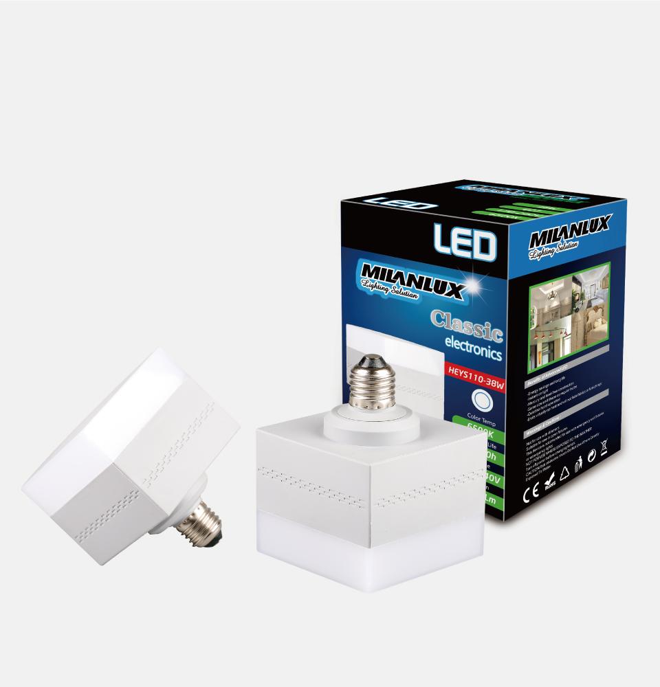 LED new  bulb  square  shape  E27 HOT SELLING  MODELS