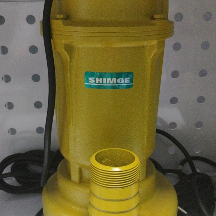 污水泵  SHIMGE  0.55kw  0.75HP  WQD6-12-0.55L1