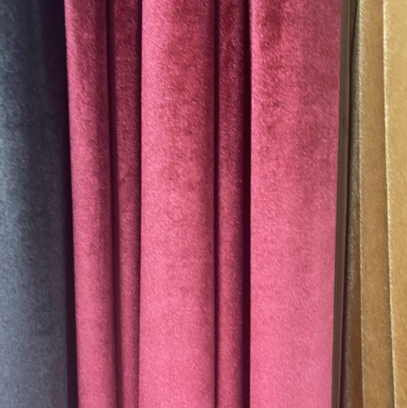 韩国绒厂家直销淡红色服饰布料现货厂家直销