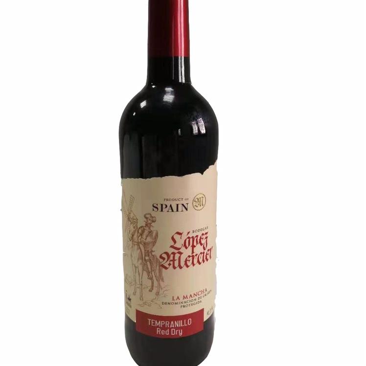 拉曼恰牛仔干红葡萄酒