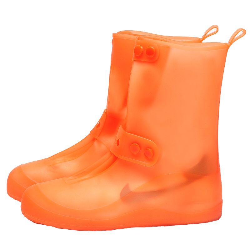 防水鞋套非一次性扇形鞋口通勤易收纳鞋套防水可收束鞋套