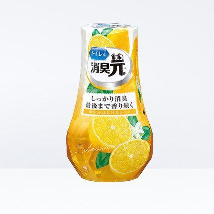 小林制药 厕所用消臭元 清新柠檬 400ml