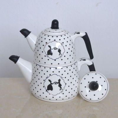 陶瓷双层壶