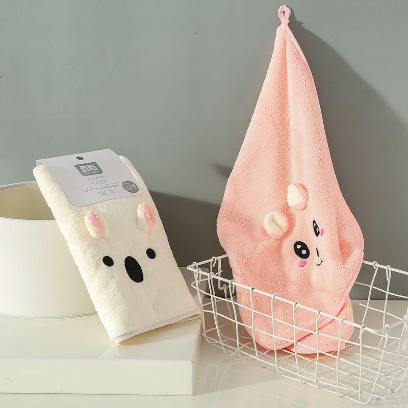 吉祥多用清洁巾擦手巾双面柔软吸水巾挂式厨房卫生间毛巾儿童手帕
