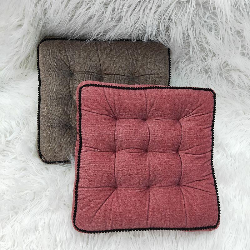 厂家批发绒布加厚磨毛椅子坐垫 办公室学生坐垫餐椅垫 榻榻米靠垫