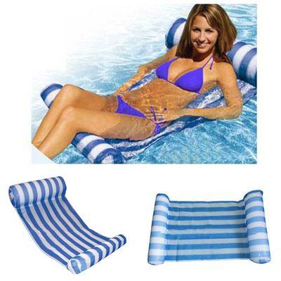 水上漂浮床water hammock水上吊床 tv水床单人水上浮排