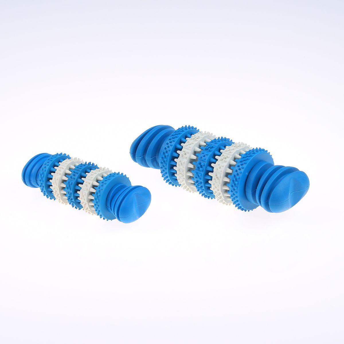 厂家直销天然橡胶宠物磨牙棒哑铃可供亚马逊