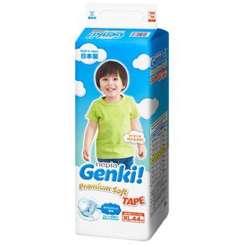 妮飘Genki婴儿纸尿裤(XL)44片装