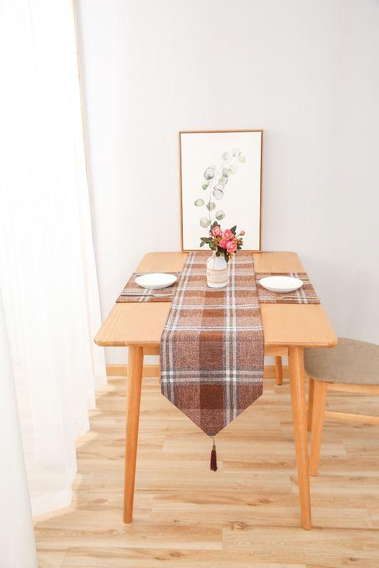 简约北欧风桌旗床旗茶几旗电视柜盖布餐桌布鞋柜盖布