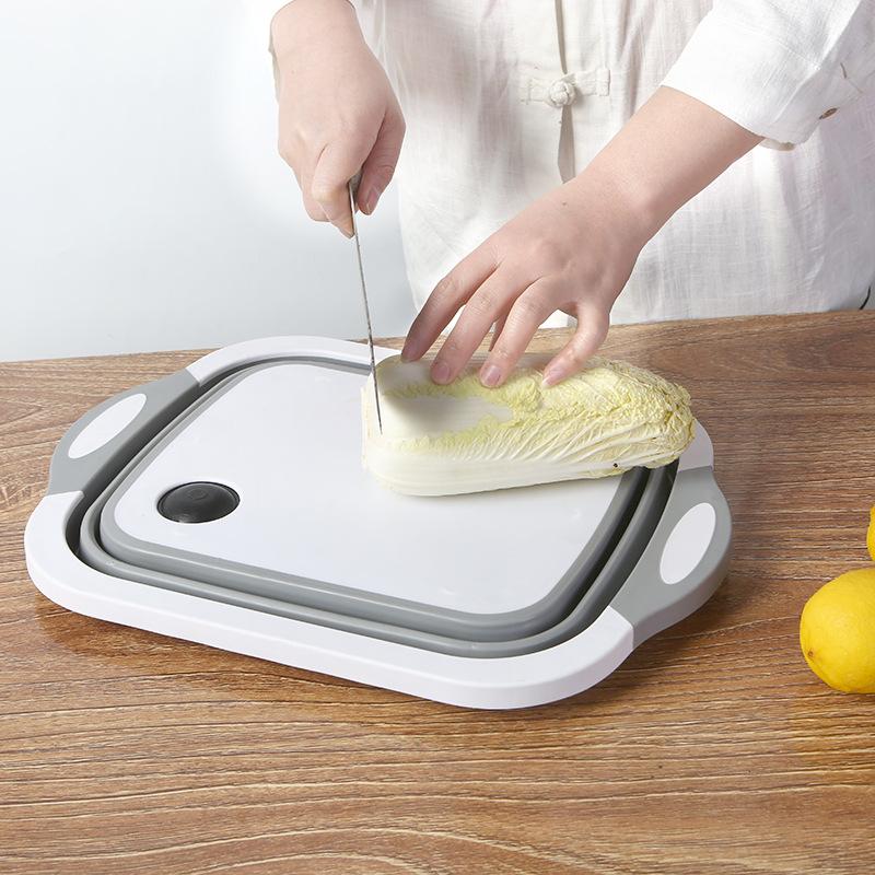 折叠菜板 洗菜盆 切菜板