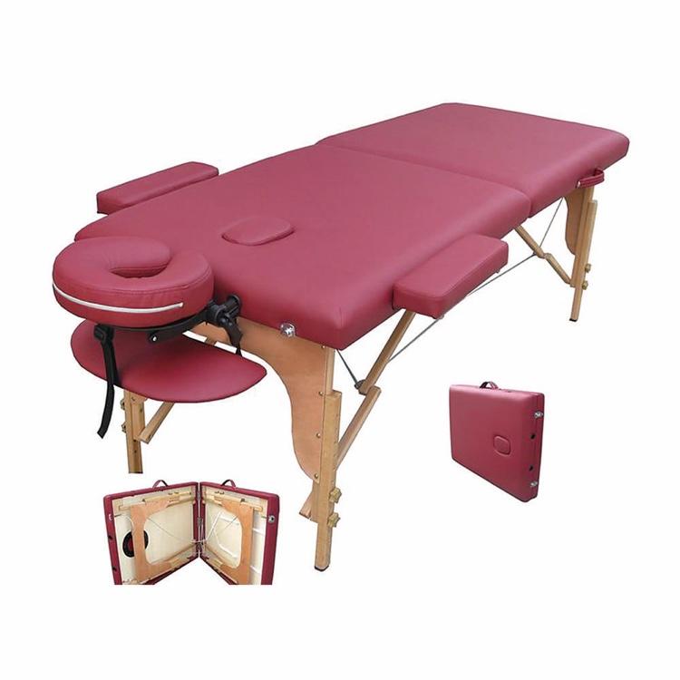 28536厂家直销 亚马逊热销 便携式折叠美容床 公文包式折叠 多颜色选择