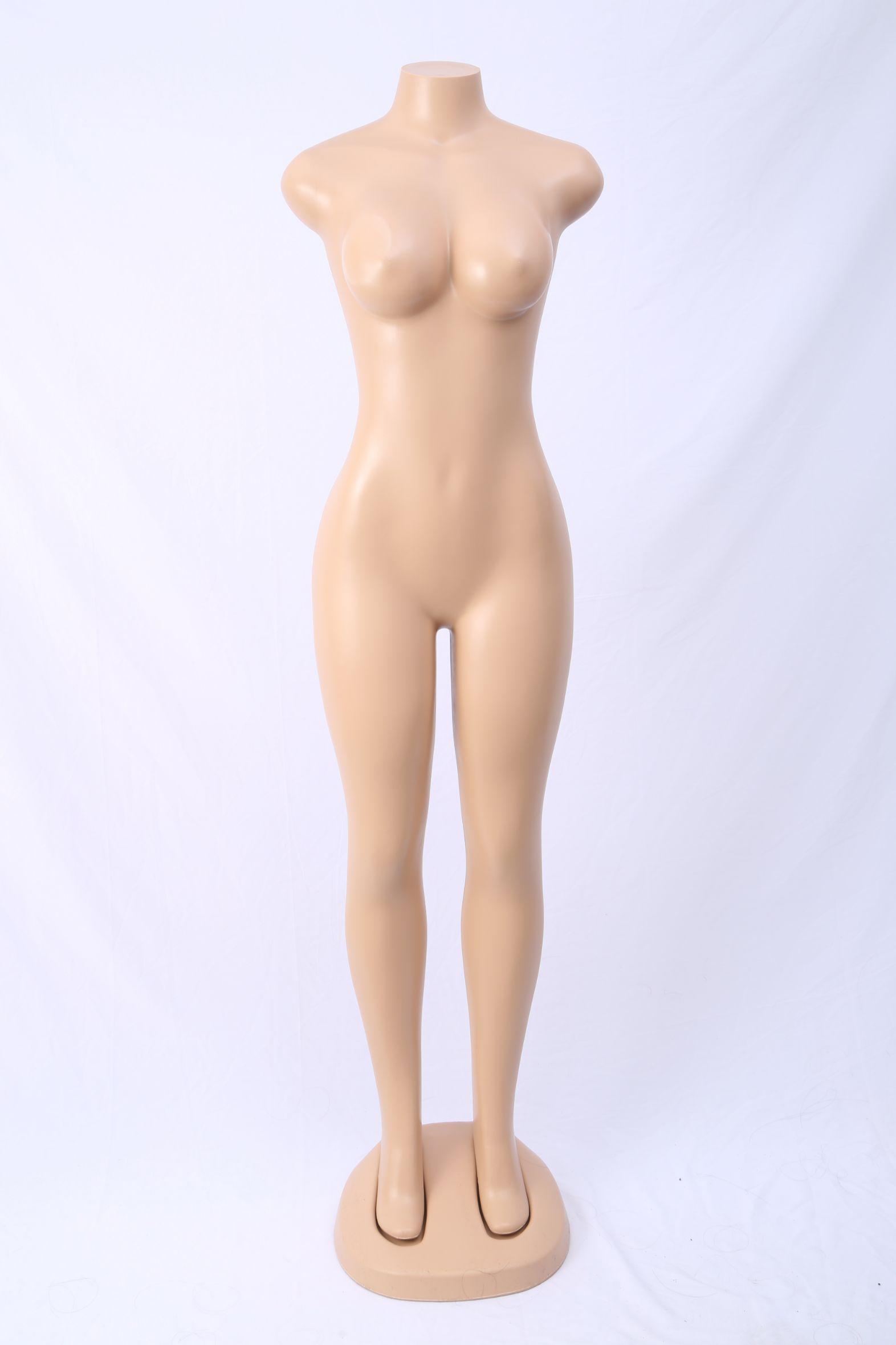 服装道具假人体女全身无头无手抽象女站模橱窗女模特厂家直销